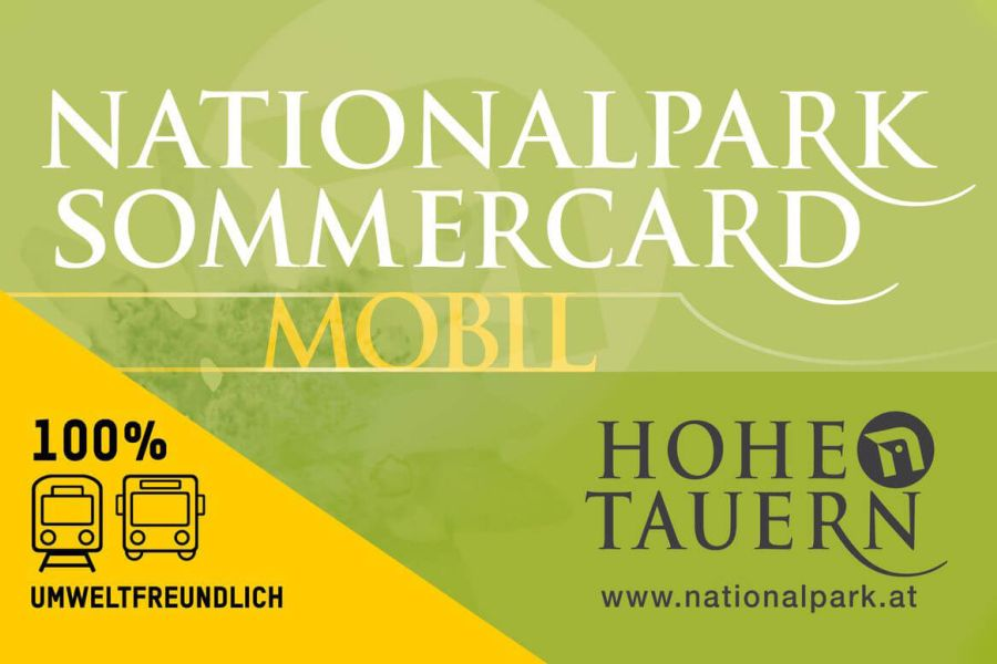 Nationalpark Hohe Tauern - Sommercard